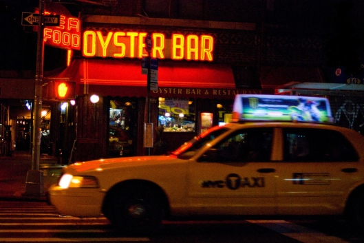 New York oyster bar andtaxi