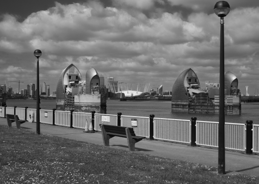 Thames Barrier, April 2014