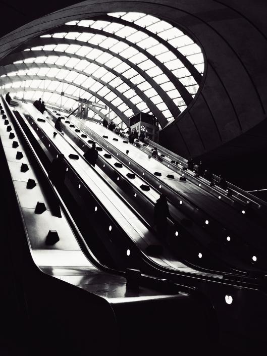 Canary Wharf Tube Station Entrance
