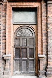 Door of Charlton's Summer House