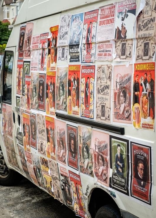 Houdini Transit Van
