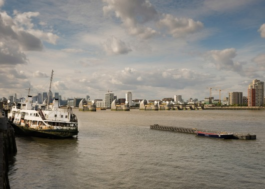 The Thames Barrier and Royal Iris